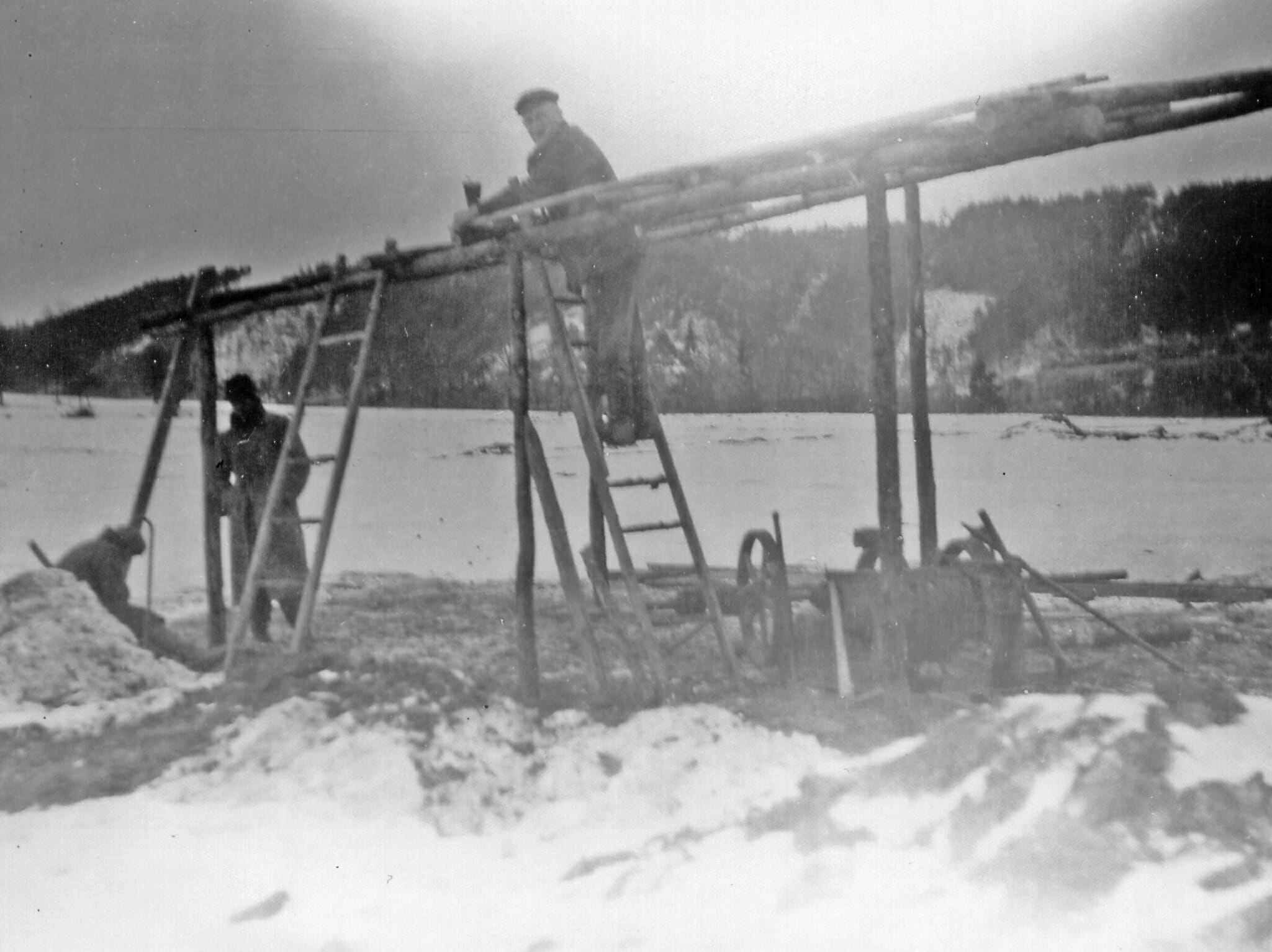Zwangsarbeit am Walpersberg